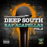 Deep South Rap Acapellas Vol. 2 cover art