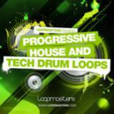 Progressive House and Tech Drum Loops cover art