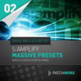 S:amplify Drum n Bass & Dubstep - NI Massive Presets cover art